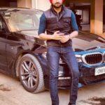 Ranjit Bawa with his BMW