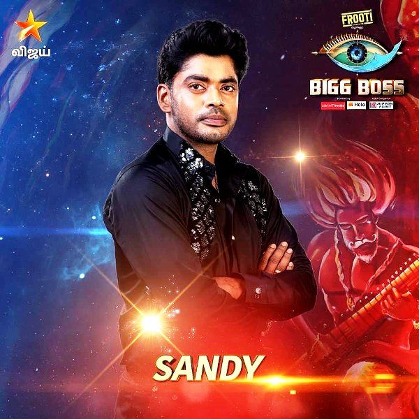 Sandy Announced As A Participant In Bigg Boss Tamil Season 3