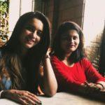 Shivani Surve with her sister Sameeksha Surve