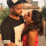 Sukhe with his girlfriend