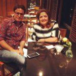Sunaina Roshan With Ruhail Amin