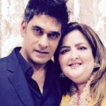 Sunaina Roshan with Bharat Kapoor