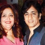 Sunaina Roshan with Rajeev Paul