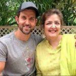 Sunaina Roshan with her brother