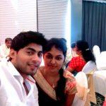 Tharshan Thiyagarajah With His Sister Thushara Thiyagarajah