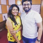 Vaishali Mhade with her brother