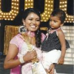 Vaishali Mhade with her daughter