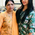 Veena Jagtap with her Mother