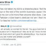 War of Words On Twitter Between Sania Mirza And Veena Malik