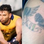Yuvraj Singh Tattoo