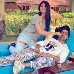 Zenith Sidhu with her boyfriend