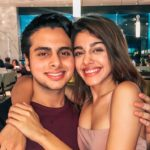 Aalia Furniturewalla with her brother Omar Furniturewalla