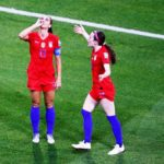 Alex Morgan's Tea Sipping Celebration