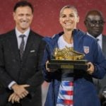Alex Morgan With CONCACAF Women's Championship Golden Boot in 2018