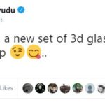 Ambati Rayudu 3d Glass Tweet
