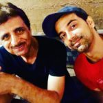 Anuj Sachdeva with his father