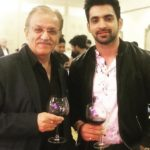 Arjit Taneja with his father
