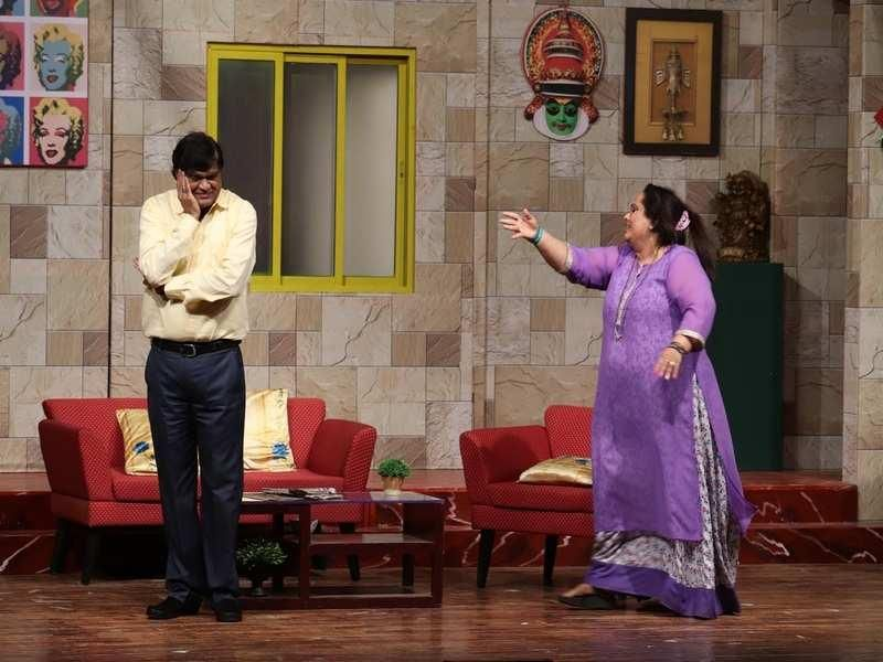 Ashok Saraf doing the Marathi theatre, Vacuum Cleaner