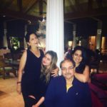 Deepika Ghose with her family
