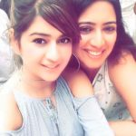 Deepika Ghose with her sister