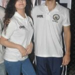 Diana Khan with Shivam Patil