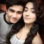Diana Khan with her brother