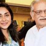 Gulzar with Meghna Gulzar