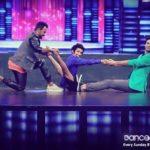 Hardik Rawat performing on Dance Plus