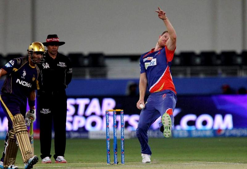 James Neesham Playing For The Delhi Daredevils