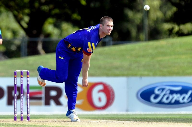 James Neesham Playing For The Otago Volts