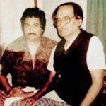 Kumar Sanu With His Father