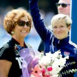 Megan Rapinoe With Her Mother Denise Rapinoe