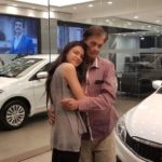 Muskaan Kataria and her father