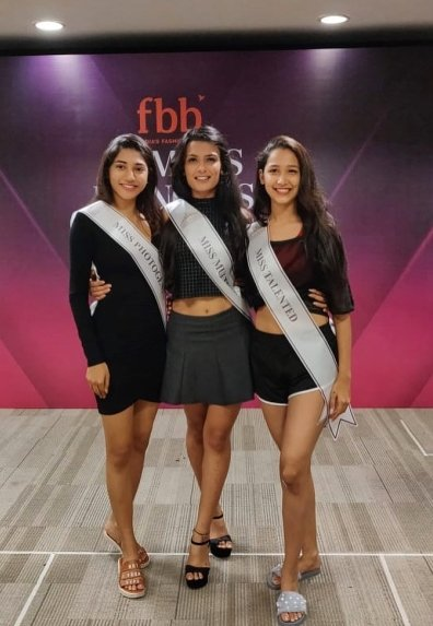 Muskaan Kataria as Miss Multimedia 2018