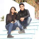 Muskaan Kataria with her boyfriend
