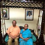 Parakala Prabhakar with his mother