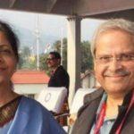 Parakala Prabhakar with his wife