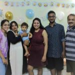Punarnavi Bhupalam with her family