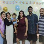 Punarnavi Bhupalam with her family