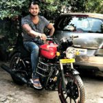 Rahul Sipligunj On His Royal Enfield Thunderbird 350-X