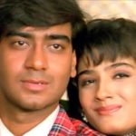 Raveena Tandon with Ajay Devgn