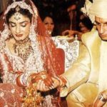 Raveena Tandon's wedding picture