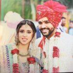 Ritika Sajdeh And Rohit Sharma Wedding Picture