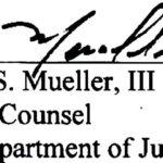 Robert Mueller Signature