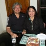 Rochelle Rao's parents