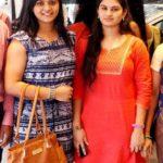 Rohini Noni With Her Sister
