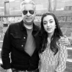 Saher Bamba with her father