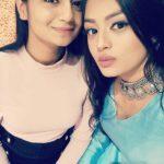 Samiksha Jaiswal with her sister