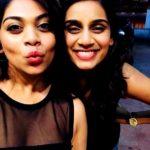 Sanjana Ganesan With Her Younger Sister Sheetal Ganesan