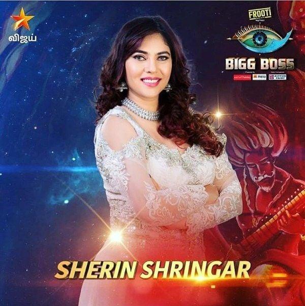Sherin Shringar in Big Boss Tamil